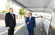 "President Ilham Aliyev arrives in Gabala <span class=""color_red"">[UPDATE]</span>"
