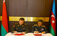 Azerbaijan, Belarus sign defence cooperation plan