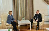 """President Ilham Aliyev receives delegation led by UK Prime Minister's Trade Envoy to Azerbaijan <span class=""""color_red"""">[UPDATE]</span>"""