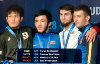 Azerbaijani wrestler wins gold in U23 Senior World Championships
