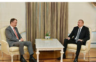 President Aliyev receives delegation led by EU Special Representative