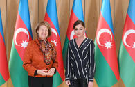 "Azerbaijan's First VP Mehriban Aliyeva meets with UK PM's trade envoy to Azerbaijan <span class=""color_red"">[UPDATE]</span>"