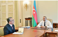 "President Ilham Aliyev receives head of Baku City Executive Authority <span class=""color_red"">[UPDATE]</span>"