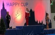 Azerbaijani gymnasts win two gold medals in Happy Cup 2019