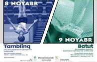 Baku to hold tumbling and trampoline gymnastics championships