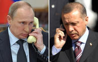 Erdogan, Putin discuss Syria, trade in phone call