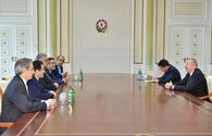 "Ilham Aliyev receives Iranian delegation <span class=""color_red"">[PHOTO]</span>"