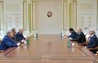 "President Aliyev receives senior officials from Russia, Dagestan <span class=""color_red"">[PHOTO]</span>"