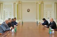 "President Aliyev receives delegation from Egypt <span class=""color_red"">[UPDATE]</span>"