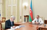 Ilham Aliyev receives chairman of Azerbaijan Railways