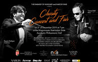 "2nd charity concert to be organized by Embassy of Hungary in Azerbaijan, ""Nargis"" Fund"