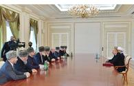 "Azerbaijan's president receives Muslim religious figures of Russia`s North Caucasus <span class=""color_red"">[PHOTO]</span>"