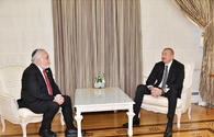 "Ilham Aliyev receives president of US Congress of Christian Leaders <span class=""color_red"">[PHOTO]</span>"