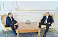 "President Aliyev receives credentials of incoming Jordanian ambassador <span class=""color_red"">[UPDATE]</span>"