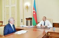 "Azerbaijani president receives head of Supreme Majlis of Nakhchivan Autonomous Republic <span class=""color_red"">[UPDATE]</span>"