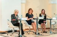 "Panel sessions on women's entrepreneurship held in Baku <span class=""color_red"">[PHOTO]</span>"