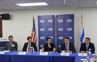 "Armenian cultural cleansing against Azerbaijani heritage discussed with U.S.-Jewish community <span class=""color_red"">[PHOTO]</span>"