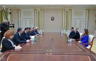 President Ilham Aliyev receives delegation led by Bulgarian interior minister