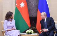 "First Vice-President Mehriban Aliyeva met with Russian President Vladimir Putin <span class=""color_red"">[UPDATE]</span>"