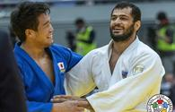 Azerbaijani judoka wins Grand Slam's silver in Japan