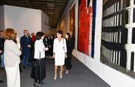 "First VP Mehriban Aliyeva views 8th Moscow International Biennale of Contemporary Art <span class=""color_red"">[UPDATE]</span>"