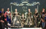 """Stunning gowns amaze fashionistas in second day of fashion week <span class=""""color_red"""">[PHOTO]</span>"""