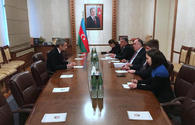 Azerbaijani FM meets new French envoy