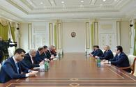 "President Aliyev receives delegation led by Slovak Minister of Foreign and European Affairs <span class=""color_red"">[UPDATE]</span>"