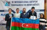 With support of Azercell school student achieved int'l success