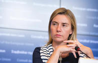 Mogherini: EU continues to work with Azerbaijan to finalize new agreement