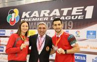 Azerbaijan wins gold at Karate 1 Premier League