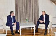 """President Ilham Aliyev receives CISCO delegation <span class=""""color_red"""">[UPDATE]</span>"""