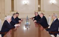 "President Ilham Aliyev receives Russian foreign minister Lavrov <span class=""color_red"">[UPDATE]</span>"