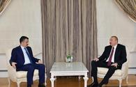 "President Ilham Aliyev receives delegation led by Turkish minister of agriculture and forestry <span class=""color_red"">[UPDATE]</span>"