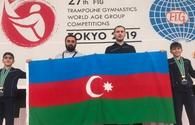 "Azerbaijani trampoliners become silver medalists for first time in country's gymnastics history (PHOTO) <span class=""color_red"">[PHOTO]</span>"