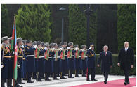 "Official welcoming ceremony held for King Abdullah II of Jordan in Azerbaijan <span class=""color_red"">[PHOTO]</span>"