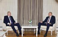 "President Ilham Aliyev receives BP Chief Executive Officer <span class=""color_red"">[UPDATE]</span>"
