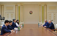 Azerbaijani president receives delegation led by commissioner of Statistics Korea