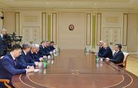 "Azerbaijani president receives delegation led by governor of Russia's Astrakhan region <span class=""color_red"">[PHOTO]</span>"
