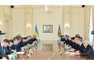 "Azerbaijani, Ukrainian presidents hold expanded meeting <span class=""color_red"">[UPDATE]</span>"