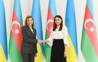 """Azerbaijan's First VP meets Ukrainian First Lady <span class=""""color_red"""">[UPDATE]</span>"""