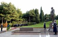 "Ukrainian president pays respect to Azerbaijani national leader Heydar Aliyev <span class=""color_red"">[PHOTO]</span>"
