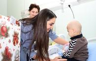 """Leyla Aliyeva visits Oncological Center's Child Clinic <span class=""""color_red"""">[PHOTO]</span>"""