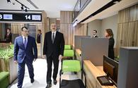 "President Ilham Aliyev attends opening of DOST center No2 <span class=""color_red"">[UPDATE]</span>"