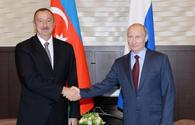 Russian President Putin makes phone call to Azerbaijani President Ilham Aliyev