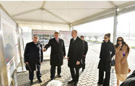 "Ilham Aliyev attends opening of Central Boulevard Street in Baku White City <span class=""color_red"">[UPDATE]</span>"