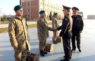 "Group of Azerbaijani peacekeepers returns from Afghanistan <span class=""color_red"">[PHOTO/VIDEO]</span>"