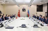"Azerbaijan, Turkey mull economic cooperation <span class=""color_red"">[PHOTO]</span>"