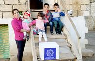 """Heydar Aliyev Foundation presents holiday gifts to low-income families <span class=""""color_red"""">[PHOTO]</span>"""