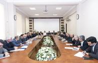 Over one million hectares of land used to grow grains in Azerbaijan